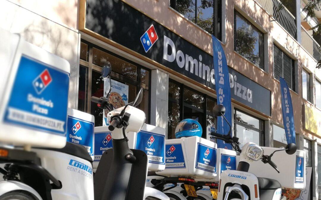 DOMINO'S PIZZA abre nova loja no Porto