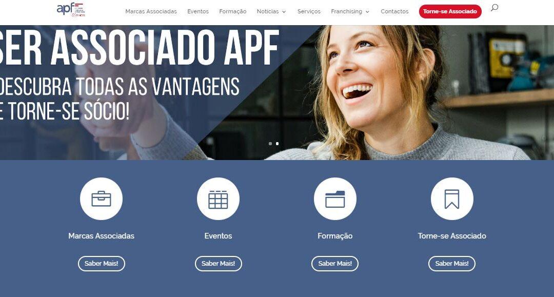 APF lança novo site de franchising