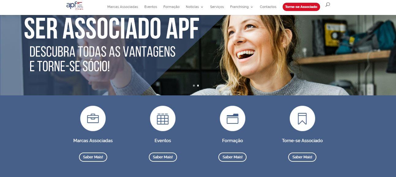 Novo site APF - Associação Portuguesa de Franchising