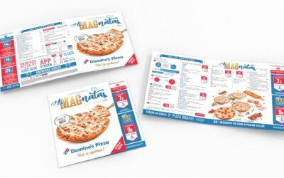 Domino's Pizza lança novo menu