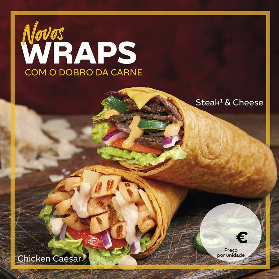 Novos wraps franchising subway portugal