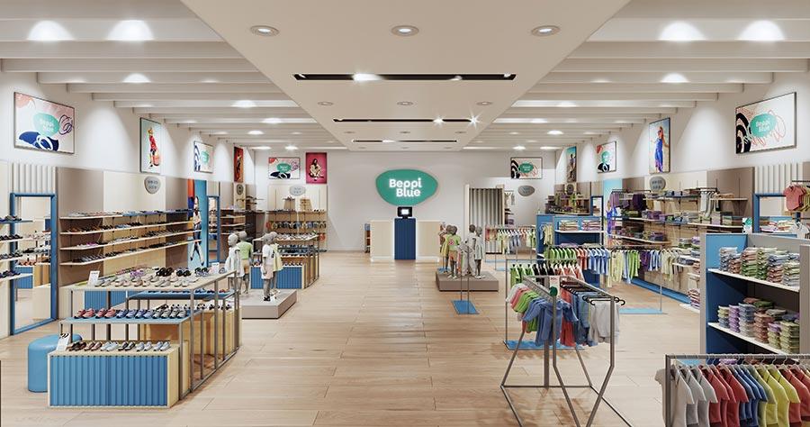 Beppi Blue franchising loja