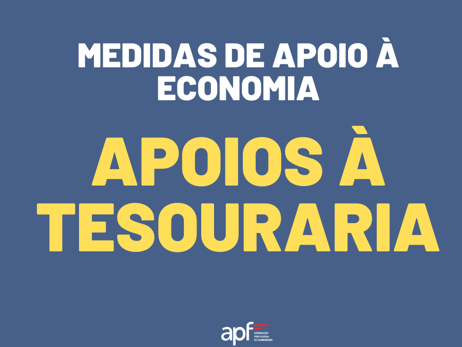 Medidas de Apoio À Economia | Apoios à Tesouraria
