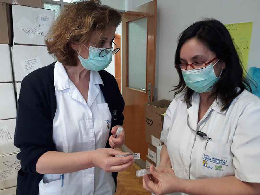 Optivisão doa produtos oculares a profissionais de saúde