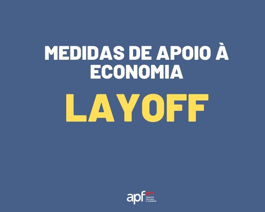 medidas de apoio a economia layoff